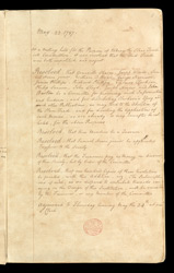 Fair Minutes Of The Committee For The Abolition Of The Slave Trade f. 2